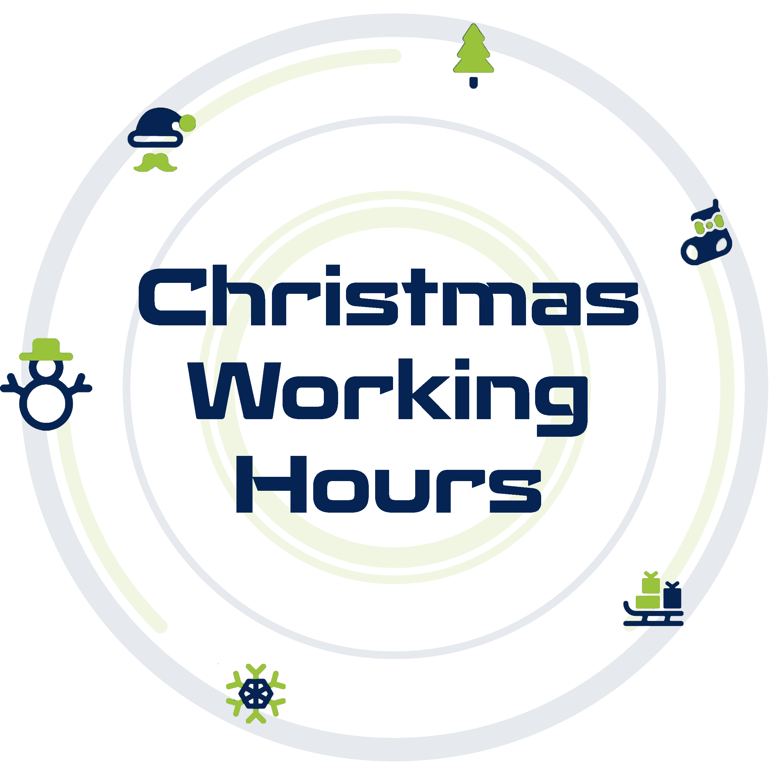 2020 Christmas Working Hours image